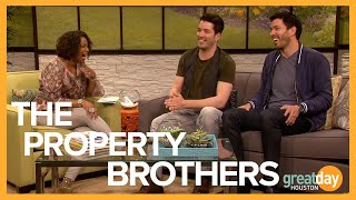 Property Brothers Jonathan and Drew Scott talk about their new book