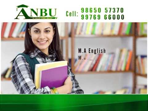 Anbu College of Arts & Science video cover2