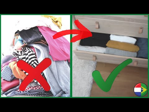 como organizar guarda roupa pequeno! | Minimalismo estilo de vida