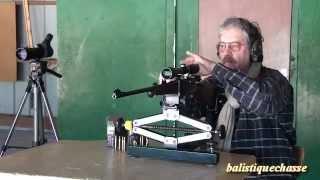 La carabine Voere type 98K cal 7x64.