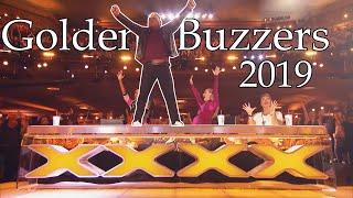 ALL GOLDEN BUZZERS of 2019   America's Got Talent