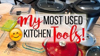 My Favorite Kitchen👩🏼‍🍳Tools and Small Appliances! 🍽 Sharing my Most Used Kitchen Tools!