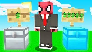 1 TL SANDIK VS 10.000 TL SANDIK! 😱 - Minecraft