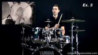 Bossa Nova Beat On Drums