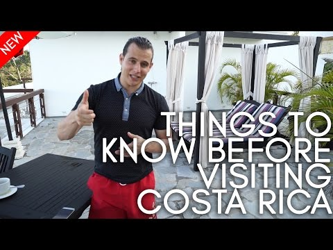 Things to know before visiting Costa Rica