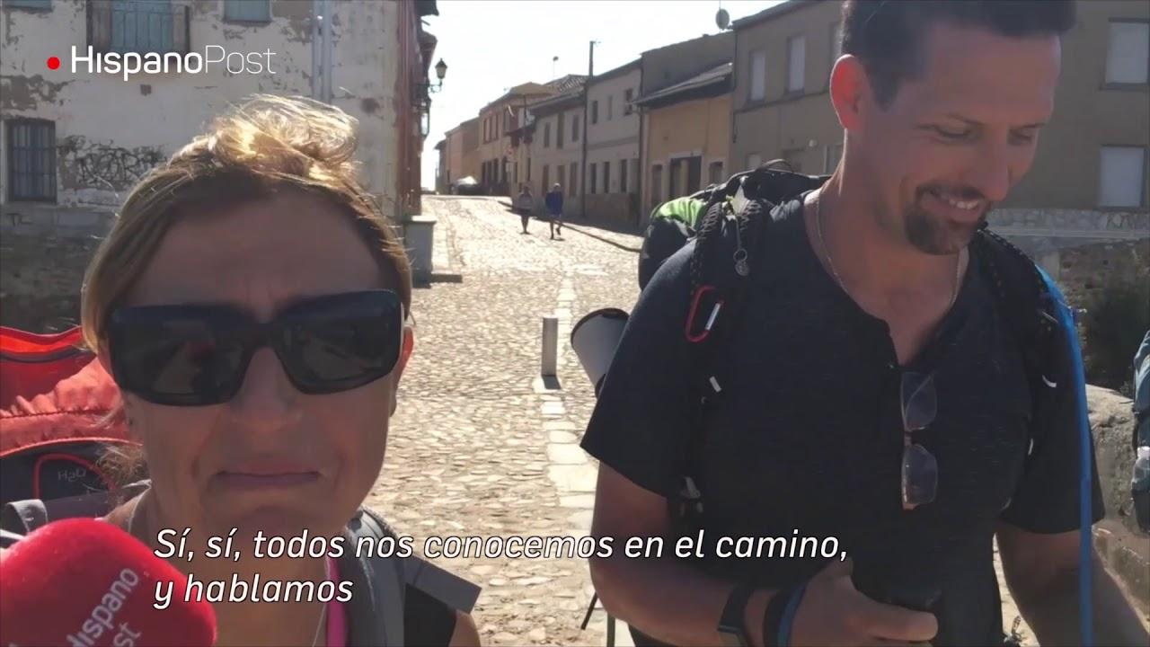 Lo que mueve a los peregrinos en el camino de Santiago