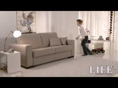 Divano letto RAPIDO- Divano letto rapido rete Luxury Styling 710