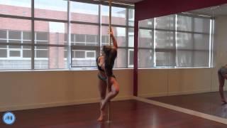 Pole Dance Tutorial - Ballerina