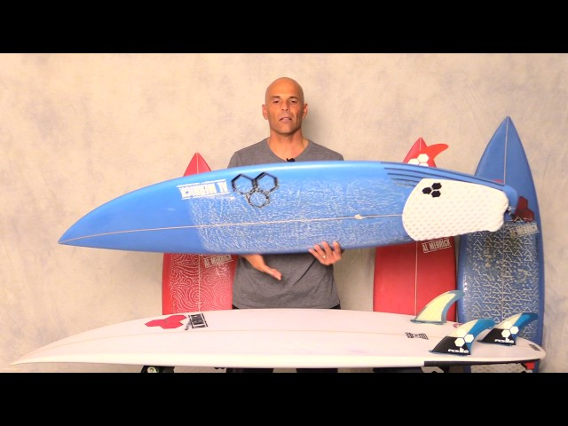 "Channel Islands Surfboards ""Rook 15 & Sampler"" Grom Review by Noel Salas Ep.19"