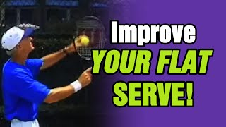 Tennis   How To Improve Flat Serve  | Tom Avery Tennis 239.592.5920