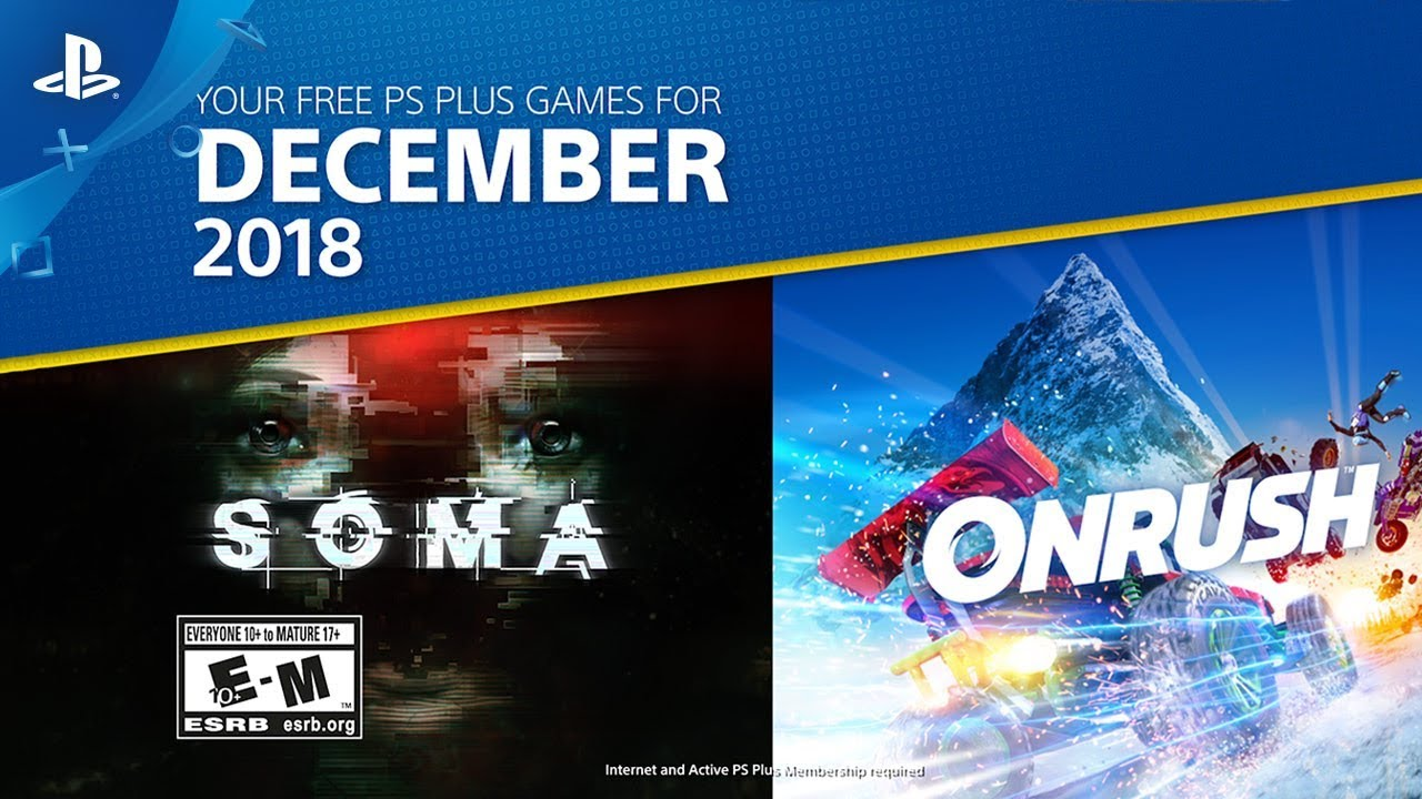 PlayStation Plus: Free Games for December 2018