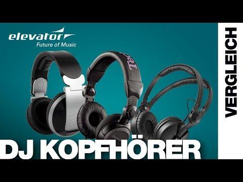 DJ Store - DJ Kopfhörer - Vergleich (Elevator Vlog 142 deutsch)