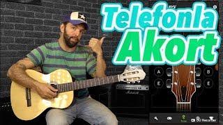 TELEFONLA Gitar AKORT Etmek - GİTAR TEL HARFLERİ