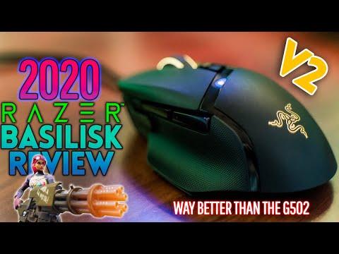 External Review Video 29mwDdSE-jE for Razer Basilisk V2 Gaming Mouse