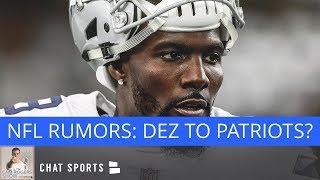 NFL News & Rumors: Dez Bryant To Patriots, Teddy Bridgewater Trade Rumors, & AJ McCarron's Health