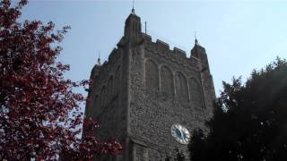 preview picture of video 'Ringing at Chislehurst, Annunciation BVM, Kent - 21st April 2014'