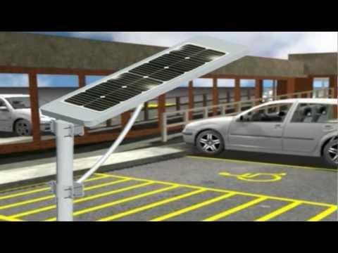 Lámpara Solar LED de Calle