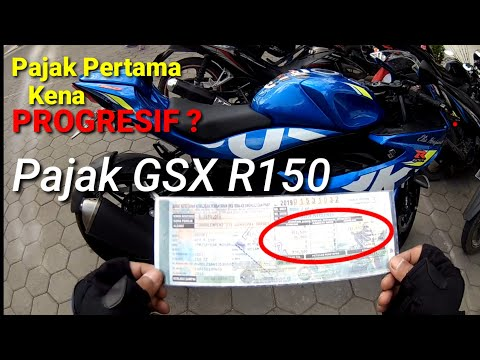 Bayar PAJAK PERTAMA GSX R150 MAHAL??