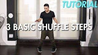 How to do 3 Basic Shuffle Steps (Shuffle Dance Moves Tutorial) | Mihran Kirakosian