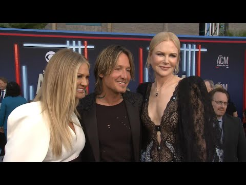 ACM Awards 2019: Keith Urban and Nicole Kidman Red Carpet Interview (Exclusive)