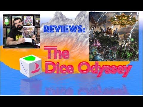 War of Supremacy card game Review