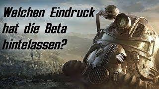Fallout 76 - Mein aktueller Eindruck nach fast 20 Std. BETA