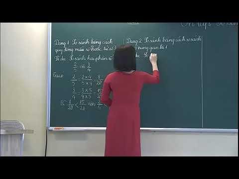 Môn Toán khối 4 - Ôn tập So sánh phân số - Nguyễn Thị Lê Mai - Trường TH Bình Thuận