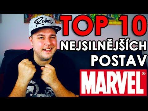 TOP 10 NEJSILNĚJŠÍCH POSTAV CELÝHO MARVELU
