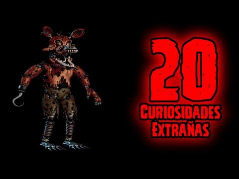 TOP 20: 20 Curiosidades Extrañas De Nightmare Foxy De Five Nights At Freddy's 4 | FNAF 4