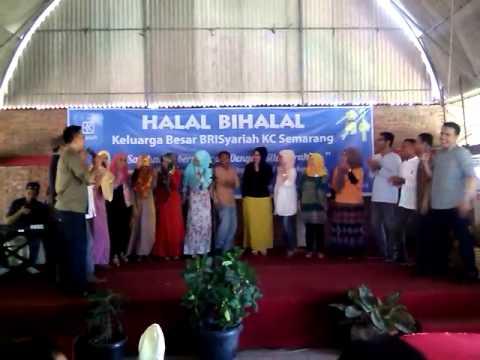 Yel Yel BRI Syariah Ops & AO KC Semarang 2015