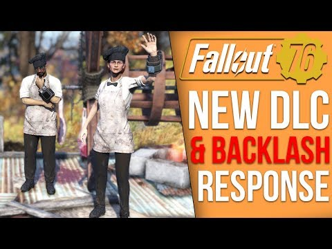 Fallout 76 News - Patch 11 Problems Response, New DLC This Month, Future DLC News