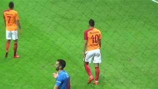 Belhanda topu kaybettikten sonra mücadeleyi bırakmıyor!  Galatasaray - Göztepe maçı 24/12/2017