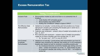 Tax Reform Impact on Employee Benefits of Tax Exempt Organizations