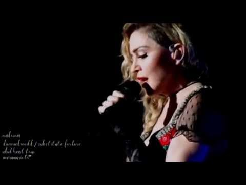 Madonna Drowned world / substitute for love ( rebel heart tour dvd) extras