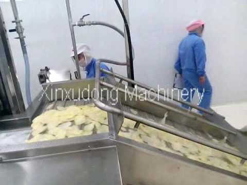 automatic potato chips production line potato chips making machine potato chips processing line