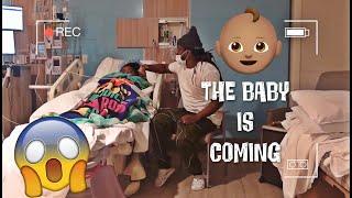 Malinda's Water Broke, The Baby Is Coming