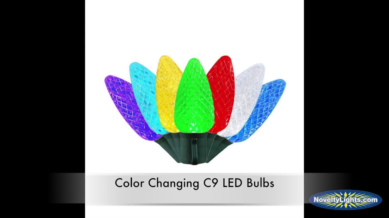Picture of **On Sale**Color Changing C9 LED Replacement Bulbs 25 Pack