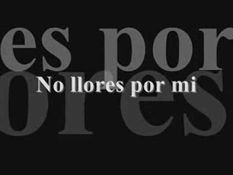 No llores por mi   Enrique Iglesias letra