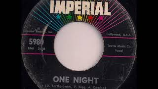 Fats Domino - One Night (stereo) - June 20, 1961