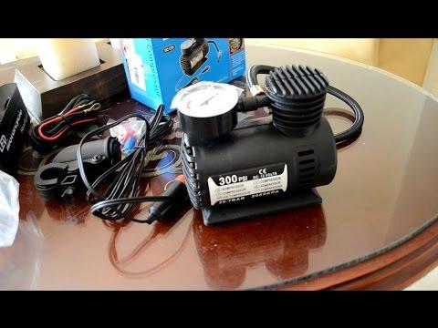 Mini compresor para MOTO y cargador universal de 12 V