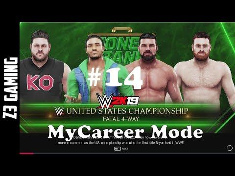 United States Championship Fatal 4-Way  WWE 2K19   MyCareer Mode #14