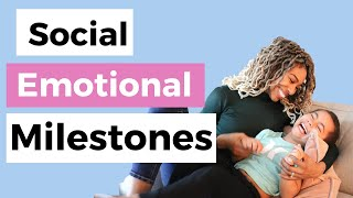 Child Development Milestones | 3 Year Old Social Emotional Development