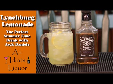 Video Lynchburg  Lemonade Drink w/ Jack Daniels - Perfect Summer Time Recipe