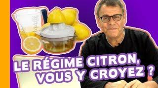 🍋 Le Régime Citron pour Maigrir, Ça Vaut Quoi ? Les Conseils du Dr Jean-Michel Cohen