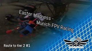 BMR Vs MultiGP | FPV racing mit Eiern | Ostern am Ameisenhügel