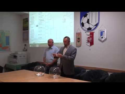 Losowanie par Wojewódzkiego Pucharu Polski