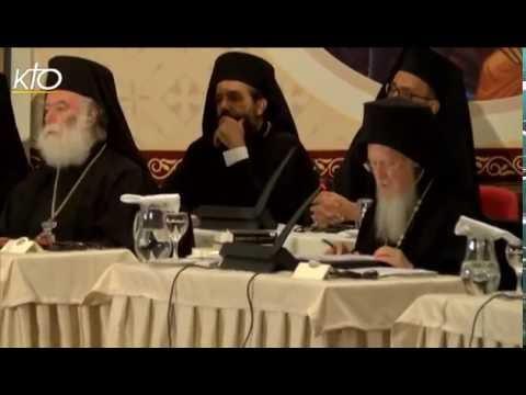 Reportage : La méthodologie du Concile orthodoxe