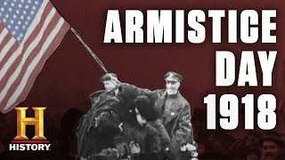 World War I Armistice Day Celebrations | History