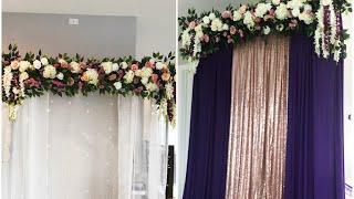 DIY- Backdrop DIY- Wedding Decor Diy- Pool Noodle Backdrop