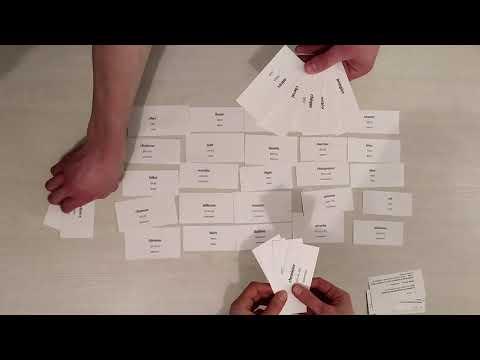 Игра пофранцузскому языку «Паутина Смыслов»
